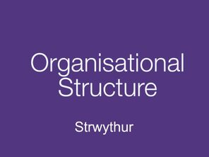 HR services for organisational structure